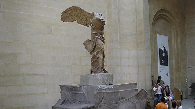 La diosa que preside el Louvre y que inspiró la marca Nike