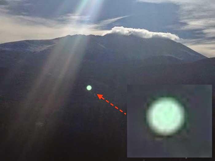 La policía confirma un avistamiento OVNI en USA