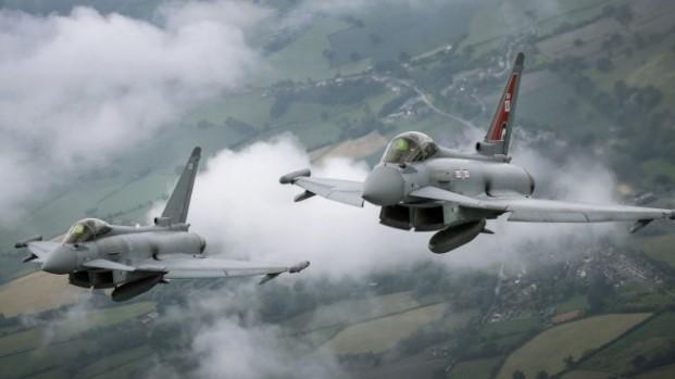 La Royal Air Force intentó interceptar un