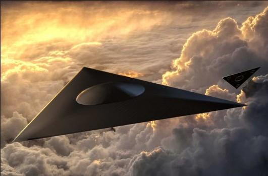 La Royal Air Force intentó interceptar un «OVNI triangular» sobre Inglaterra
