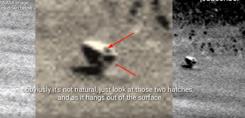 MARTE, el Rover Opportunity fotografía un misterioso