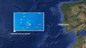 Pirámide submarina encontrada cerca de las Islas Azores asociada con la Atlántida