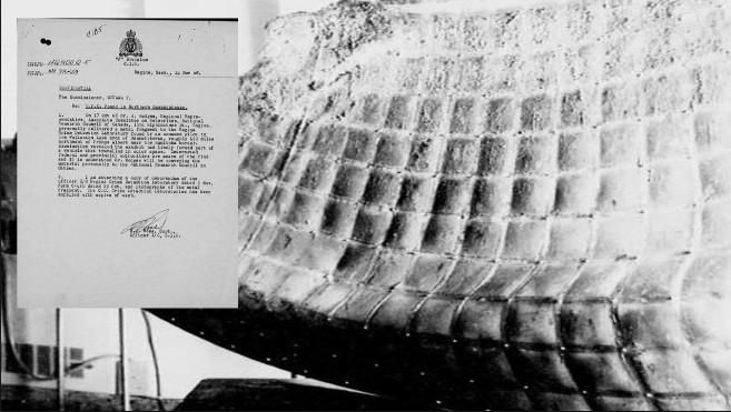 TOP SECRET, Nuevo documento sobre el descubrimiento del fragmento OVNI lanzado cerca del Lago Wollaston, Canadá
