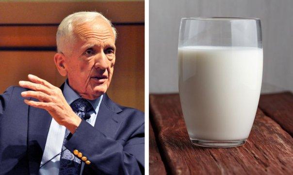 Un científico explica cómo la leche de vaca absorbe el calcio de tus huesos y los hace más débiles