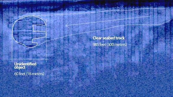 ¿Hay un OVNI en el lecho marino del mar Báltico?