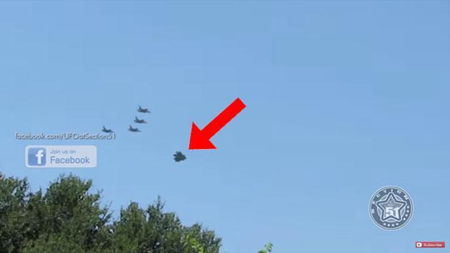 ¿Qué nos ocultan? OVNI escoltado por aviones de guerra de EE.UU. en Turquía (Video)