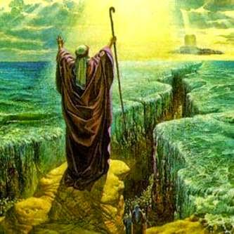 ¿Seres tecnológicamente avanzados ayudaron a Moisés a cruzar el mar rojo?