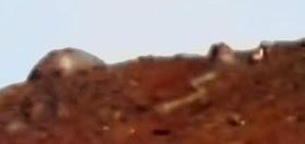 ¿Solo una pareidolia la famosa cupula metálica identificada en marte?