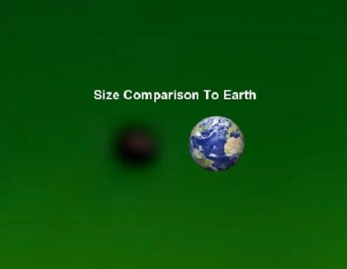Anomalía capturada en órbita alrededor del Sol