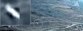 Otro Fastwalker filmado por un drone en el norte de España.