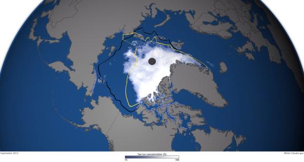Científicos descubren en el Ártico la causa que podría desencadenar la extinción de la vida en la Tierra