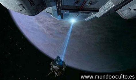 Científicos escoceses crean el 'rayo-tractor' de Star Trek