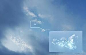 Espectacular video de un OVNI transparente