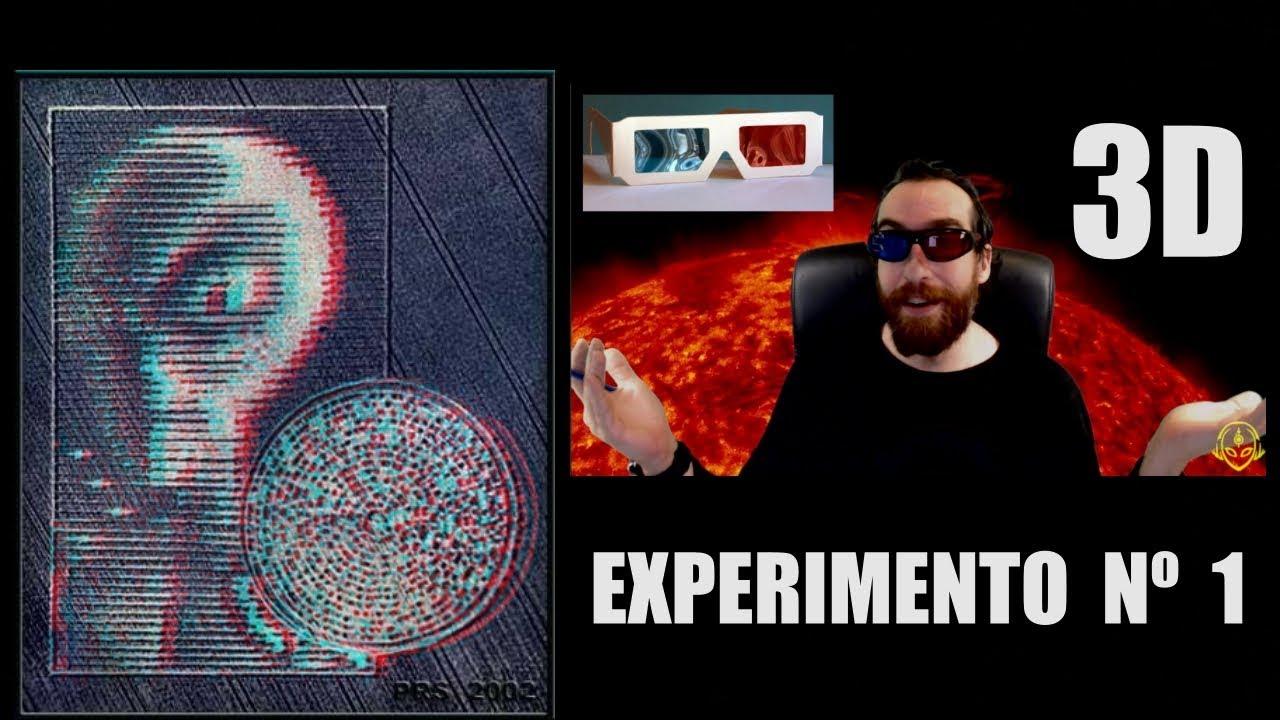 Increíbles Mensajes Extraterrestres RECIBIDOS en 3D Parte 1