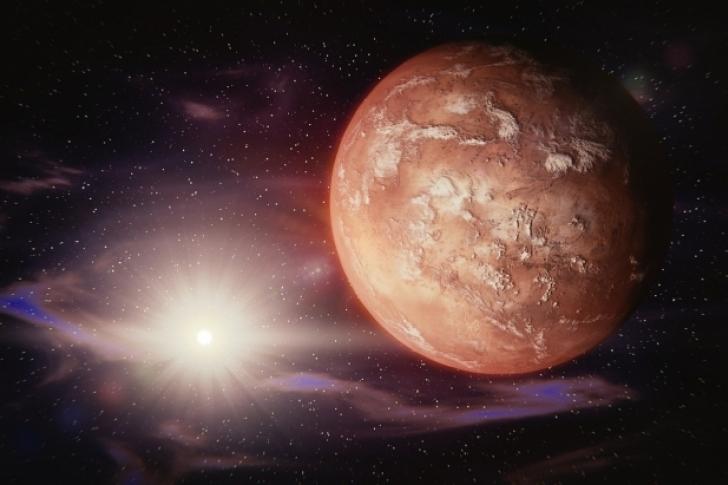 Marte esconde un gran secreto detrás de su lago de hielo