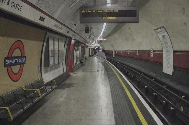 Pánico en el metro de Londres