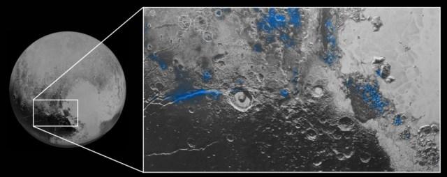 Plutón extrañamente se parece a la tierra
