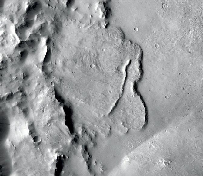 Primera evidencia de un sistema de agua subterránea a escala planetaria en Marte
