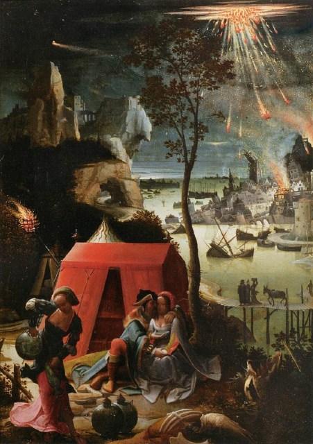 Un misterio en la historia: cuando Dios hizo quemar azufre, destruye Sodoma y Gomorra
