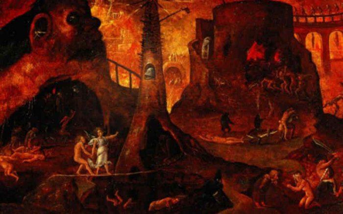 Visión del infierno de Santa Faustina Kowalska.