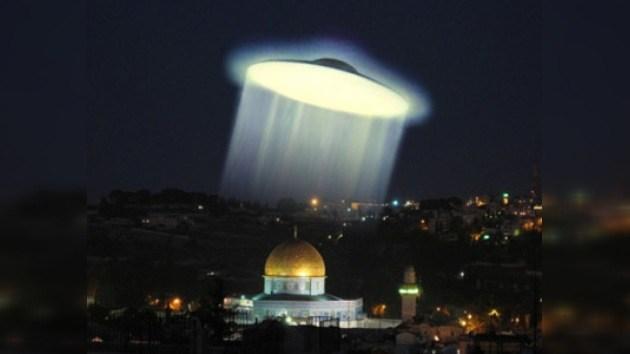 Youtube se revoluciona con un vídeo de un OVNI en Jerusalén
