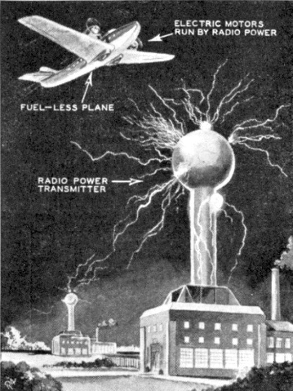 ¿Usó Tesla la Antigravedad para Producir Energía Ilimitada?