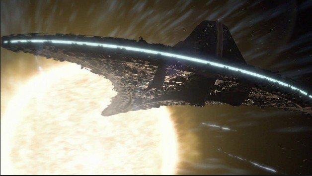 Enormes objetos fotografíados cerca del Sol por la sonda SOHO