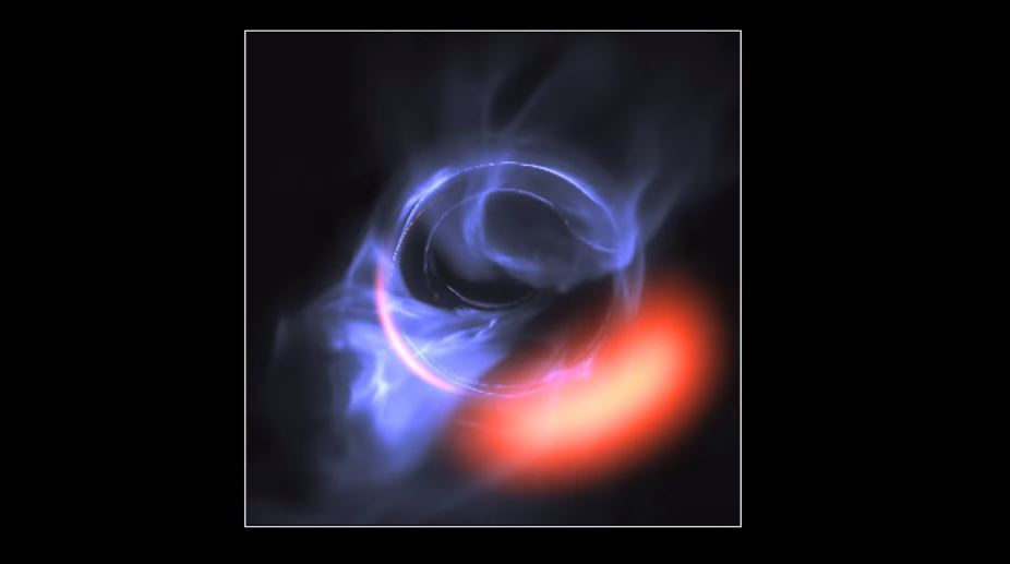 Sagitario A*, el enorme agujero negro del centro de la galaxia