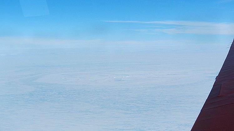 Cicatriz en una zona de la Antártida desconcierta a los científicos