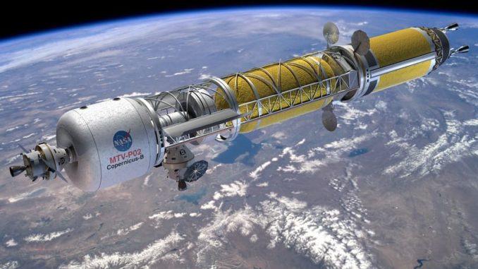 EE.UU. ensamblará una planta de propulsión nuclear en el espacio