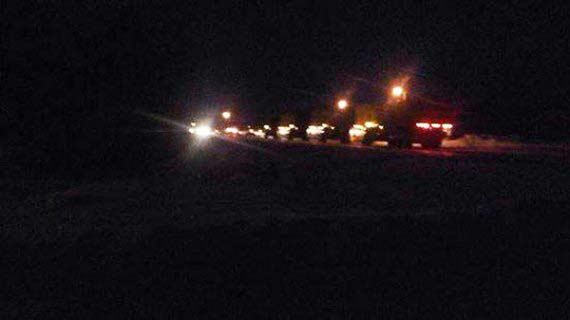 Ejército canadiense cierra el lago Winnipeg después de la caída de un OVNI