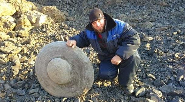 Encontrada escultura de OVNI en una mina rusa