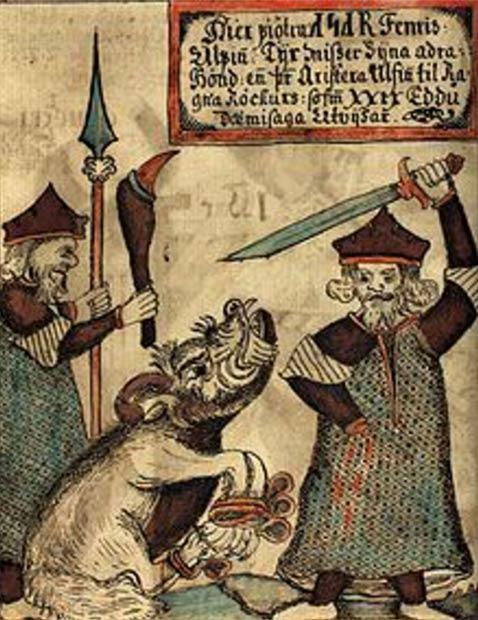 Fenrir: El lobo Monstruoso de la Leyenda nórdica