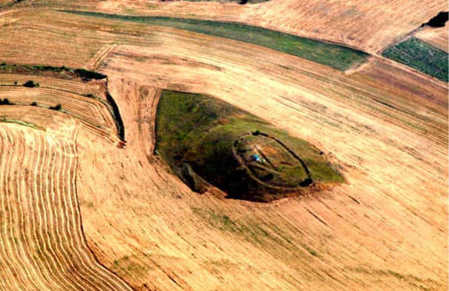 Geoglifo en República de Macedonia puede apuntar a una conexión real con alineación astronómica