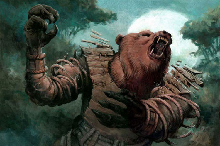 Hombre Oso – La leyenda del Ucumar