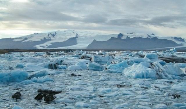 Islandia se está elevando por los efectos del cambio climático