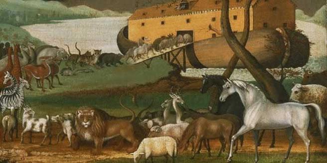 La leyenda del origen de los gatos y el Arca de Noé