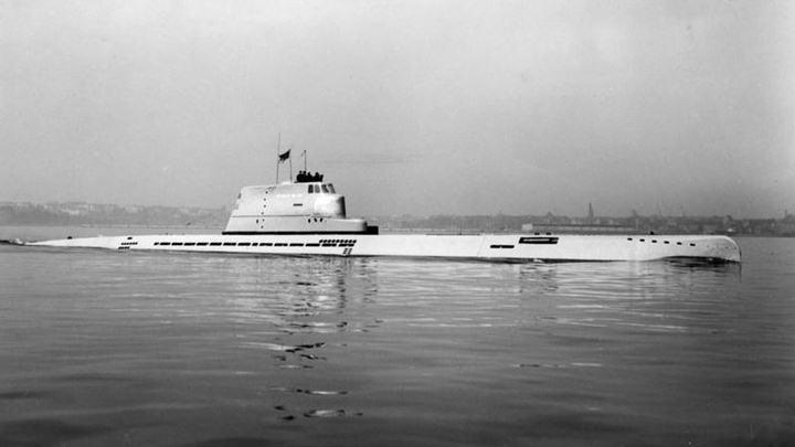La mayor profundidad alcanzada por un superviviente de un submarino en la WW