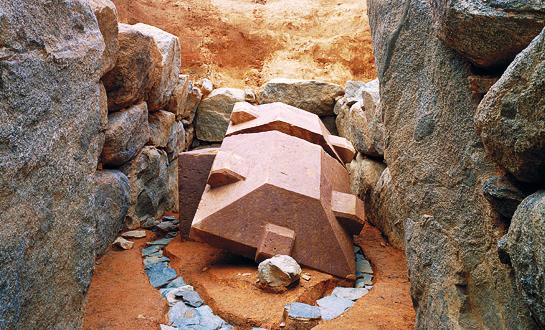 Las huellas de antiguas civilizaciones avanzadas.
