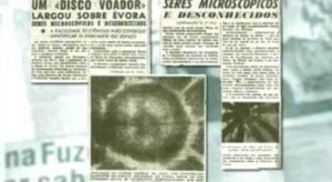Los microorganismos que calleron en Evora tras el paso de un OVNI