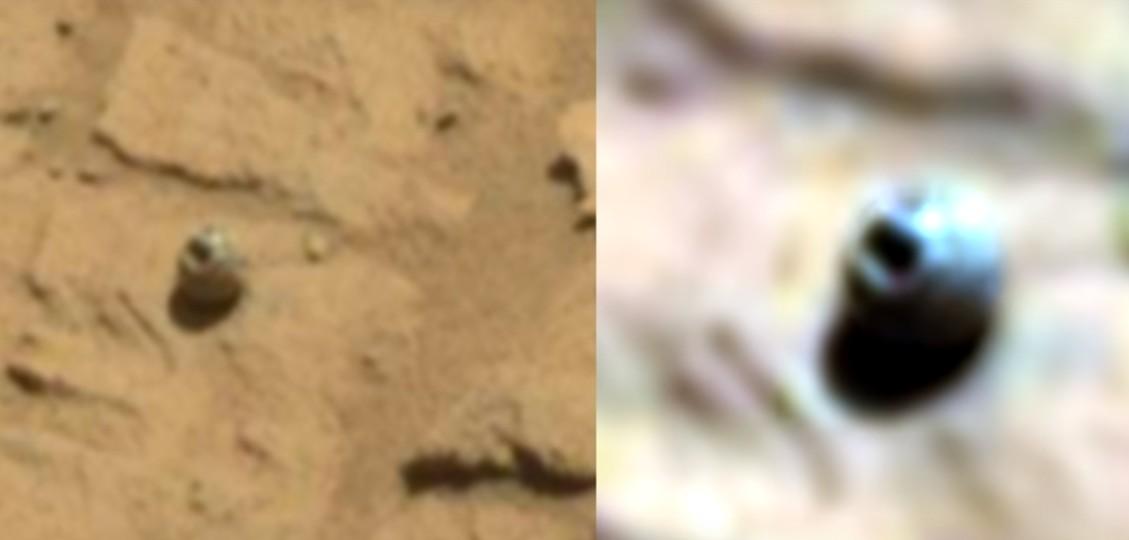 MARTE, el Rover Curiosity Fotografía Misteriosos Objetos