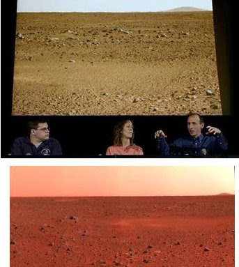 Marte no es tan rojo como la Nasa quiere que parezca