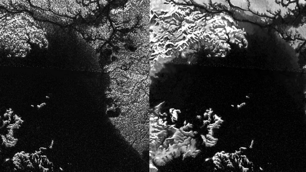 Nuevo algoritmo deja ver rios y dunas en Titan