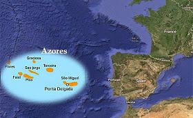 Piramide gigantesca a 60 metros bajo el mar en las Azores