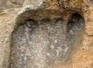 Pisada humana gigante de hace varios millones de años