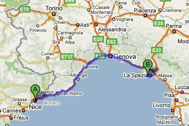 Que ocurrio en 1608 en los cielos de Niza y Genova