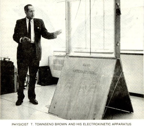 Thomas Townsend Brown desafiando la gravedad