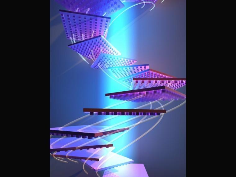 Consiguen hacer levitar y propulsar objetos con luz