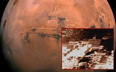 El Rover Curiosity fotografió las antiguas ruinas de una ciudad alienígena en Marte