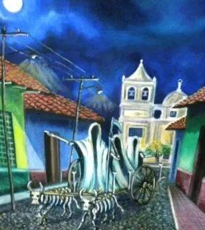 La carreta Nagua (Nicaragua)